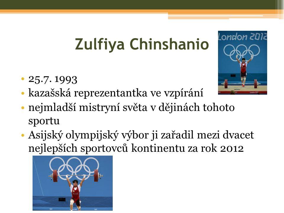 Zulfiya Chinshanio 25.7.