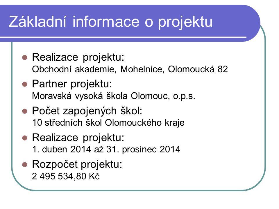 Webový portál www.cevok.cz