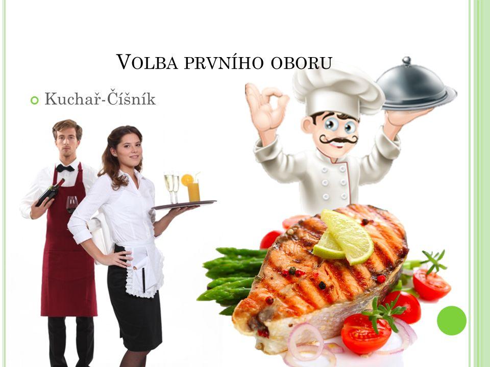 V OLBA PRVNÍHO OBORU Kuchař-Číšník