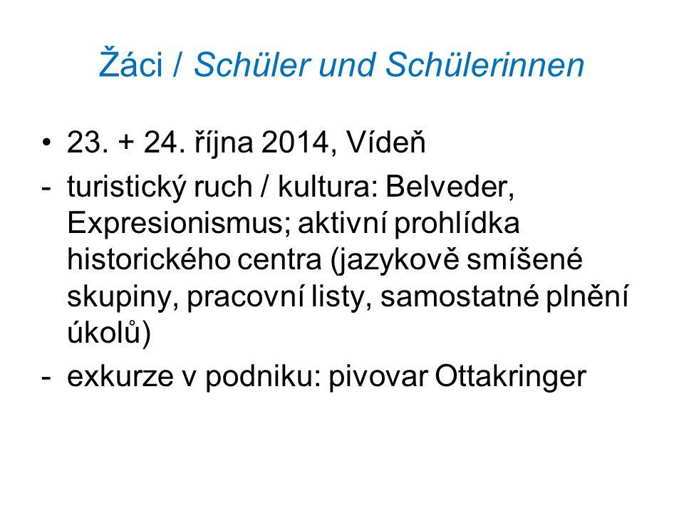 Žáci / Schüler und Schülerinnen 23. + 24.