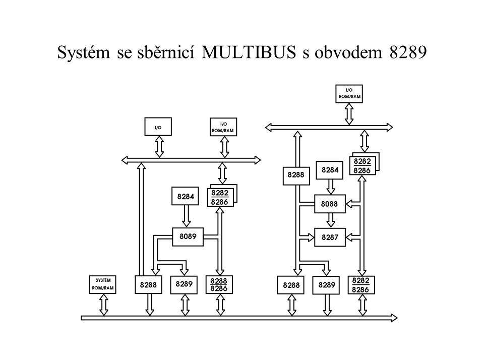 Systém se sběrnicí MULTIBUS s obvodem 8289