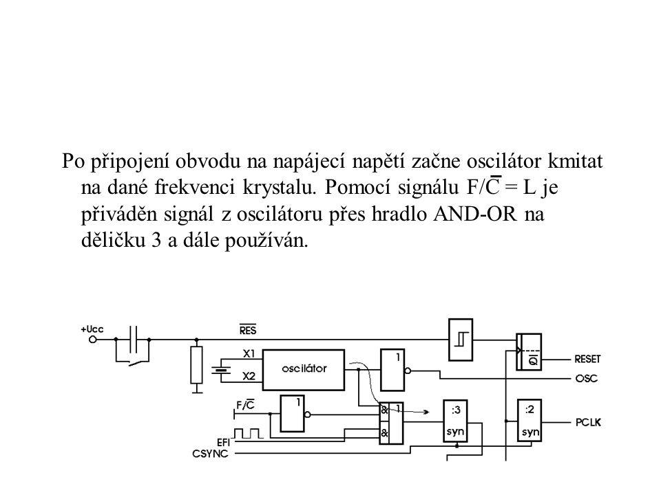 Řadič I/O sběrnice V této konfiguraci se mohou používat I/O řídící signály pro řídící sběrnici.
