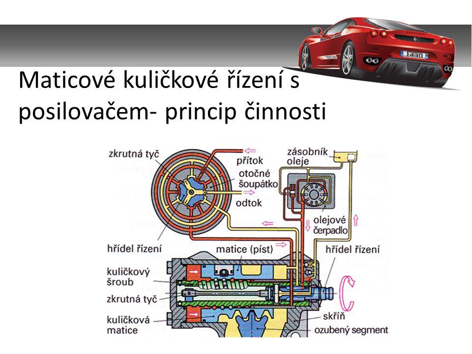 Servotronic je elektronicky řízené hřebenové řízení s hydraulickým posilovačem, kde pomocná síla posilovače je ovlivněna rychlostí jízdy.