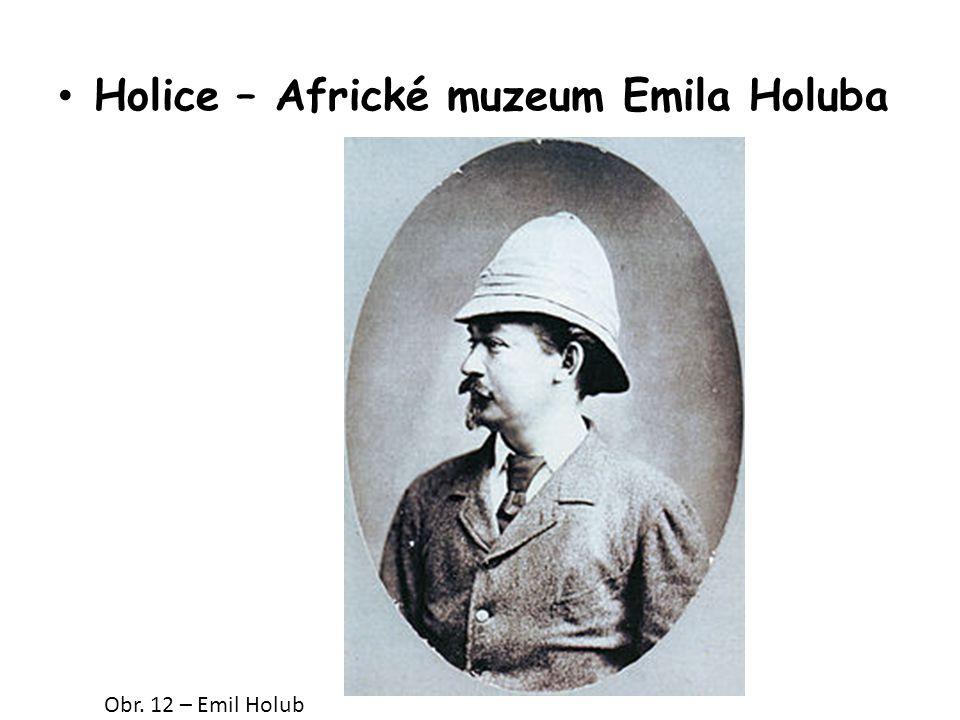 Holice – Africké muzeum Emila Holuba Obr. 12 – Emil Holub