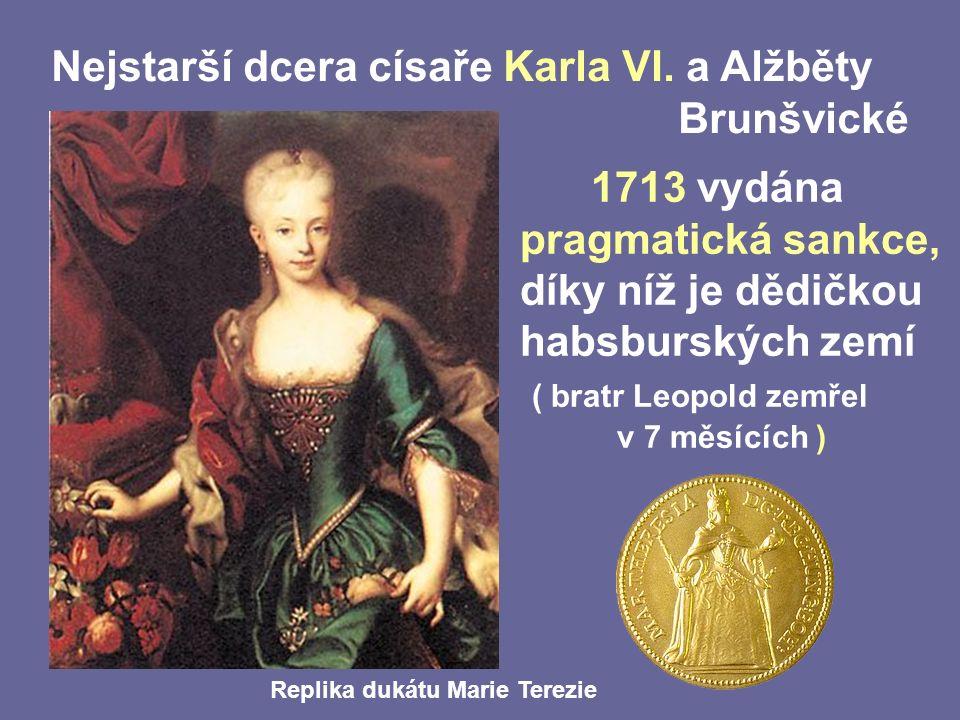 Nejstarší dcera císaře Karla VI.