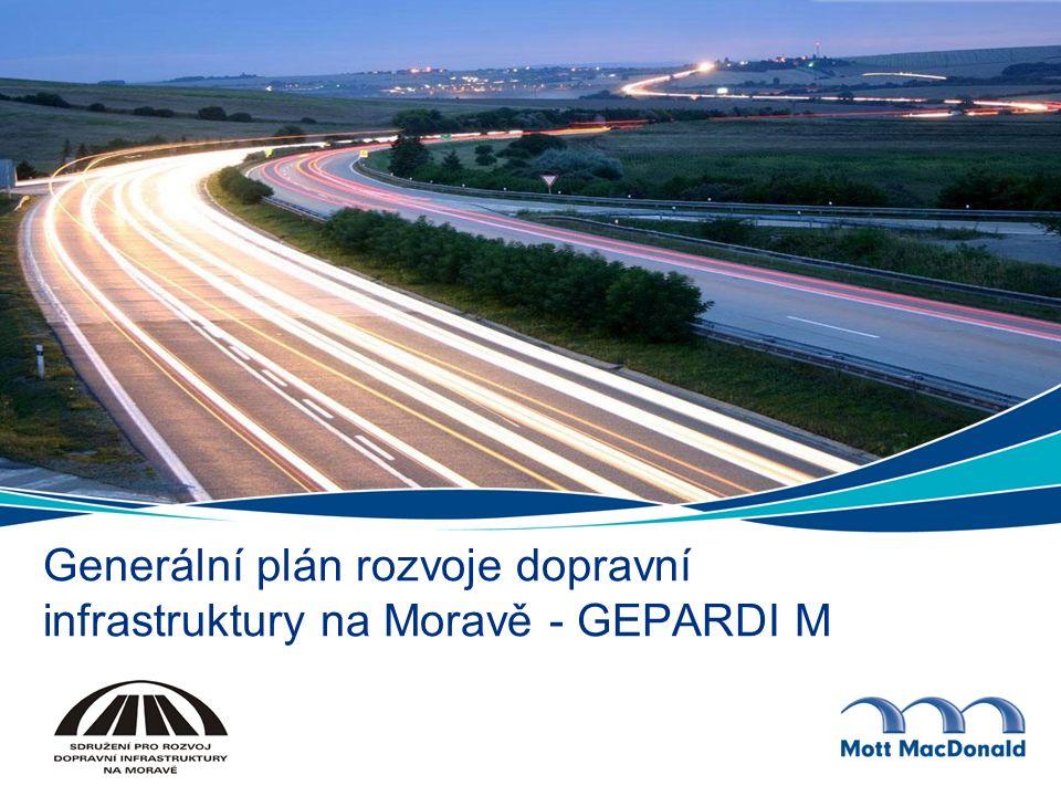 Generální plán rozvoje dopravní infrastruktury na Moravě - GEPARDI M