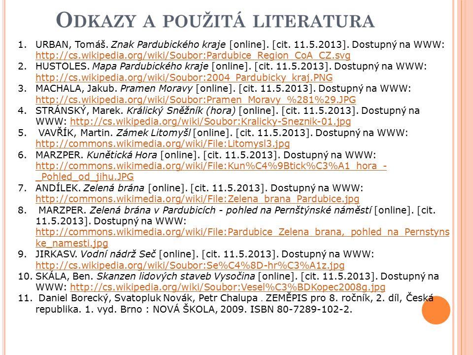 1.URBAN, Tomáš. Znak Pardubického kraje [online].