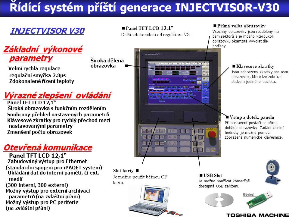 Široká dělená obrazovka ■ ■ Panel TFT LCD 12.1 Další zdokonalení od regulátoru V21 ■ Přímá volba obrazovky Všechny obrazovky jsou rozděleny na osm sektorů a je možno kteroukoli obrazovku okamžitě vyvolat dle potřeby.