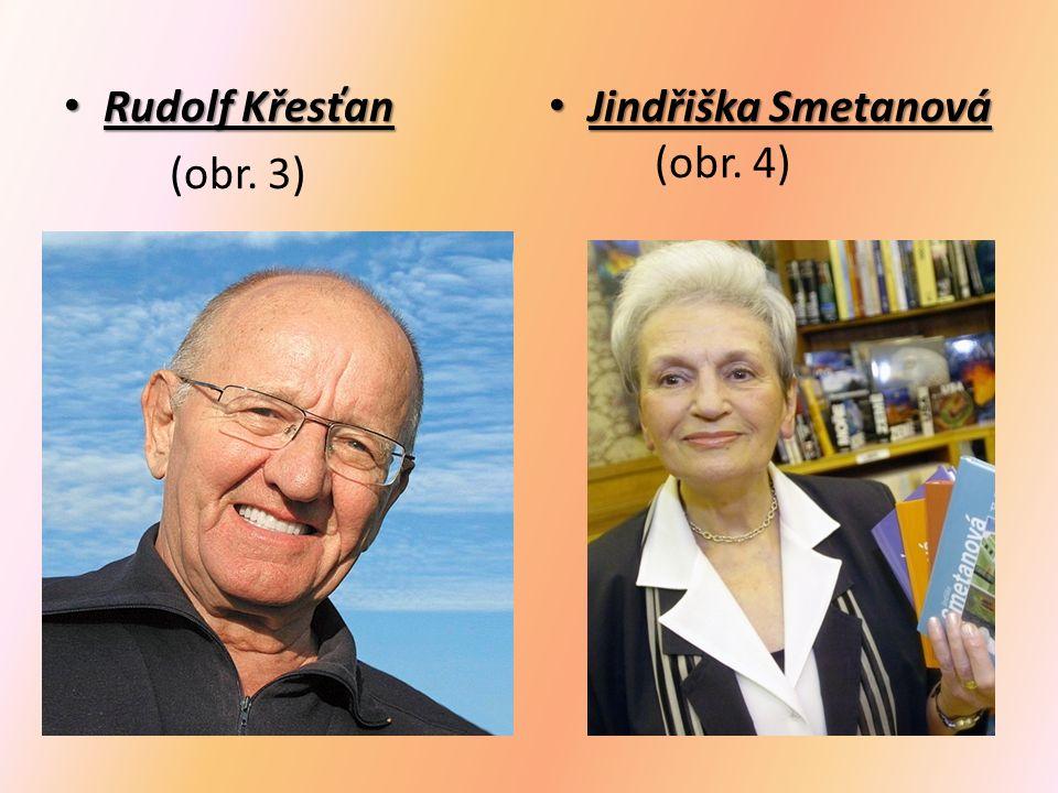 Rudolf Křesťan Rudolf Křesťan (obr. 3) Jindřiška Smetanová Jindřiška Smetanová (obr. 4)