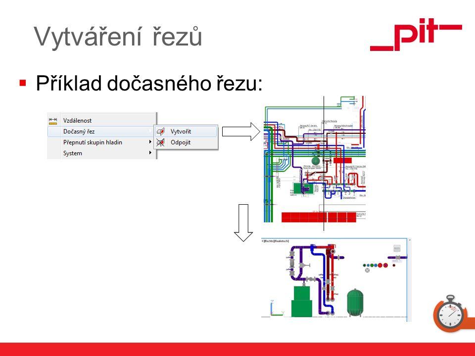 www.pit.de  Příklad dočasného řezu: Vytváření řezů