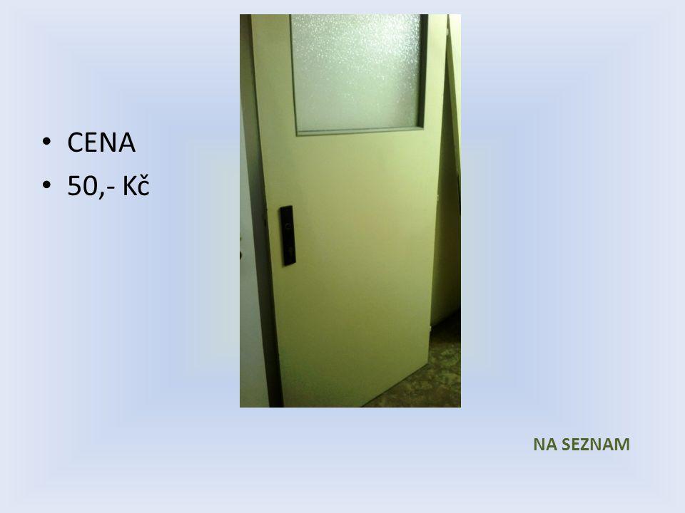 Položka číslo 12 Dveře č. 12 Bílé voštinové Pravé 800 x 1970 1/3 prosklené