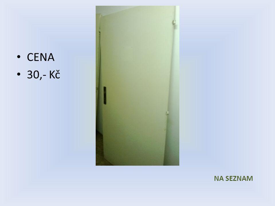 Položka číslo 13 Dveře č. 13 Bílé voštinové 800 x 1970 Pravé