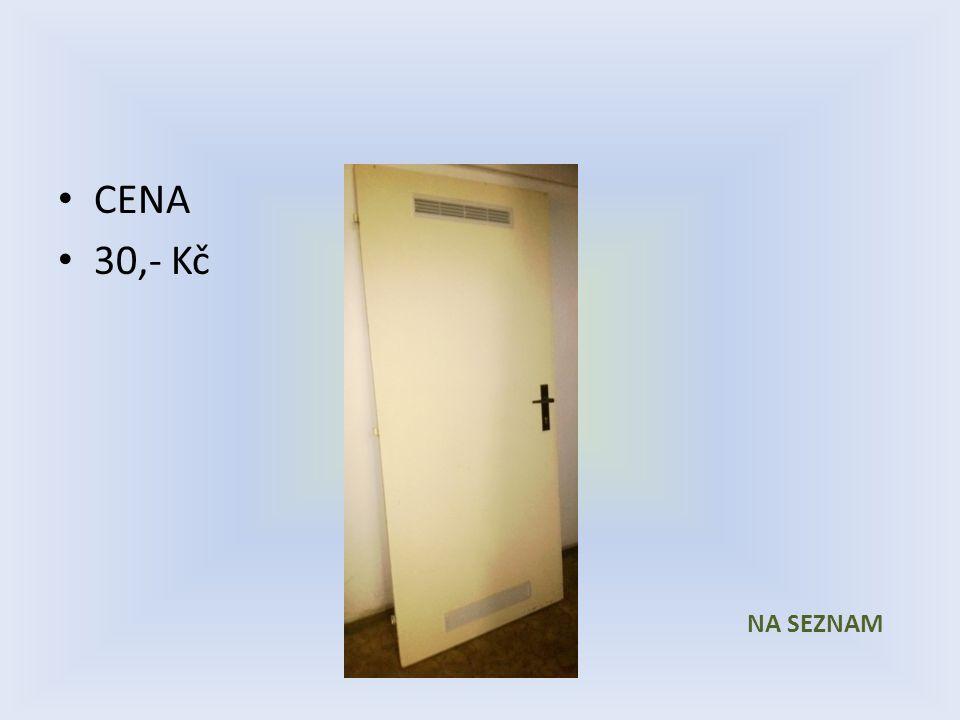 Položka číslo 18 až 22 Dveře č.