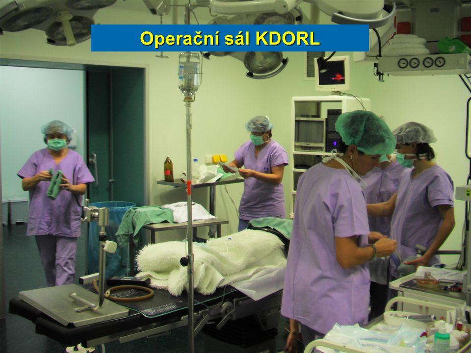 Operační sál KDORL