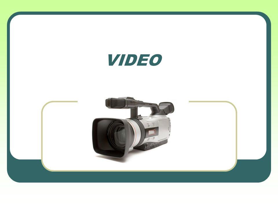Co je video… Video je sekvence po sobě jdoucích obrázků Lidské oko (z důvodu setrvačnosti) nevnímá jednotlivé obrázky, ale plynulý pohyb Počet obrázků za sekundu je běžně 25, při menším počtu již vnímáme blikání