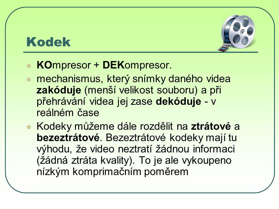 Kodek KOmpresor + DEKompresor.