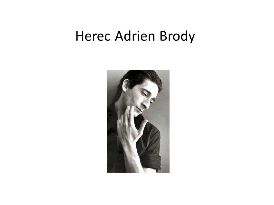Herec Adrien Brody