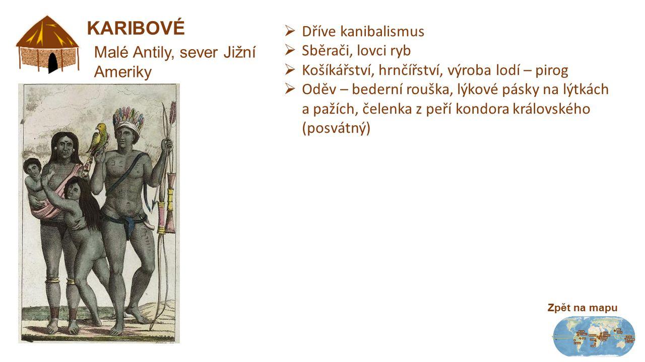 Daniové Korowajové Kombajové Shókó Akhové Surmo Pygmejové Samburové Masajové Bušmani Křováci Himbové Chívarové Awá Janomamové Karibové 0° 5° s.