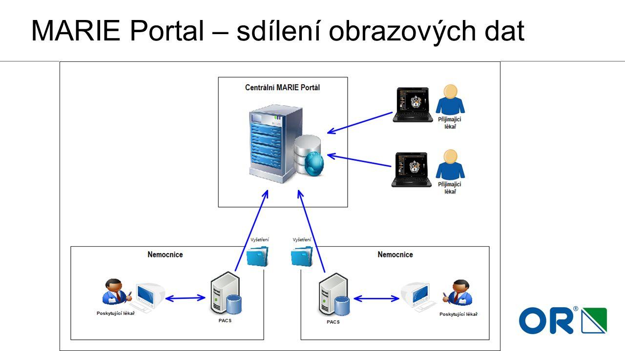 MARIE Portal – sdílení obrazových dat