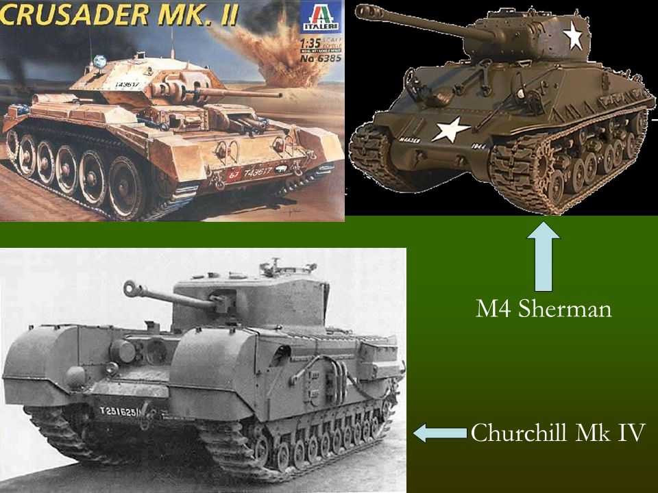 Churchill Mk IV M4 Sherman
