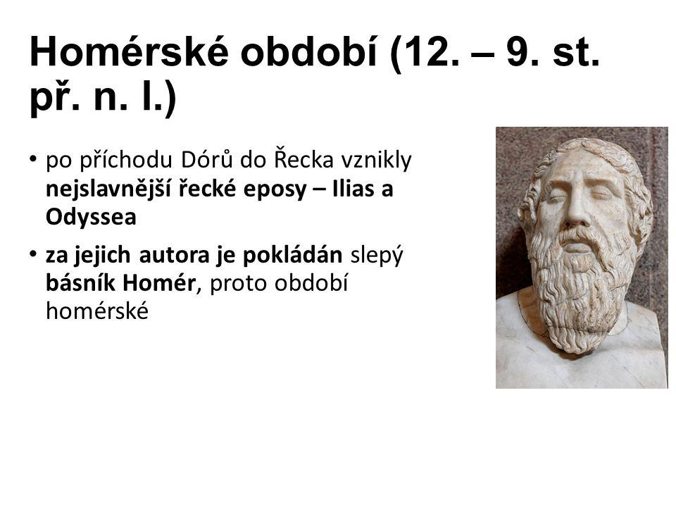 Homérské období (12. – 9. st. př. n.