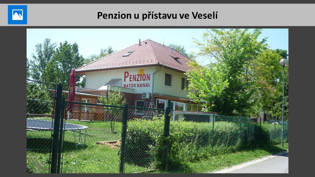 Penzion u přístavu ve Veselí