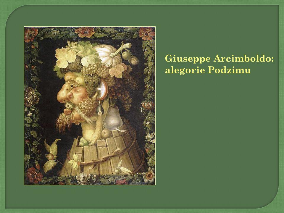 Giuseppe Arcimboldo: alegorie Podzimu