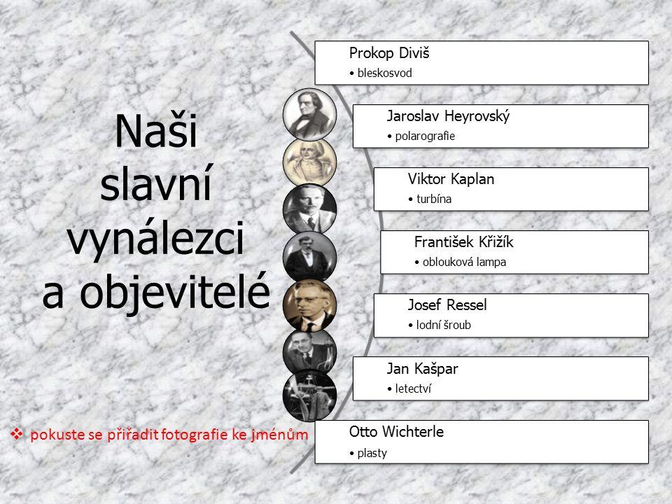 Anotace Digitální učební materiál slouží jako přehled českých vynálezců pro výklad v hodině fyziky.