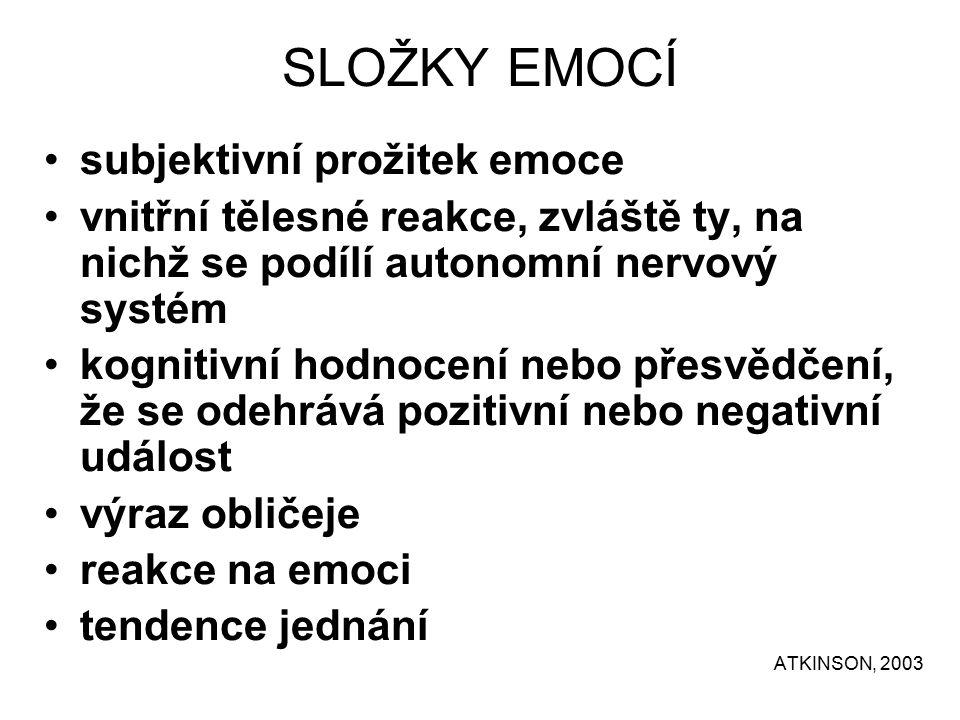 Vlastností citů (podle ŠTEFANOVIČ, J.