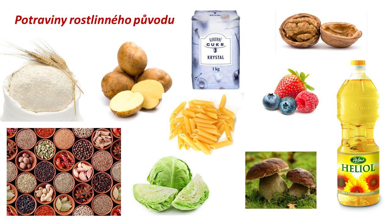 Potraviny rostlinného původu