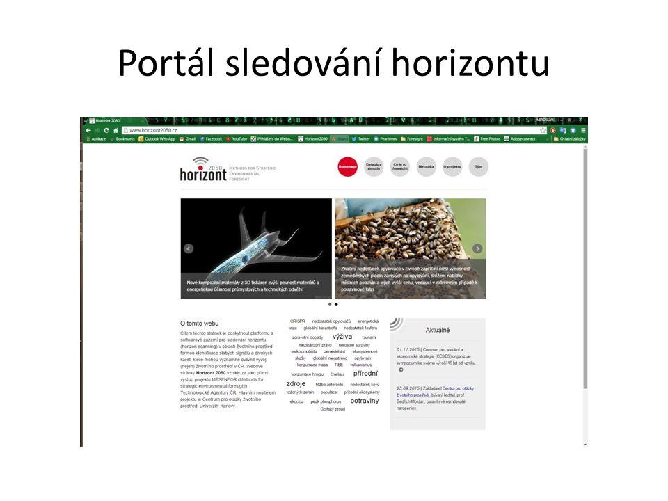 Portál sledování horizontu