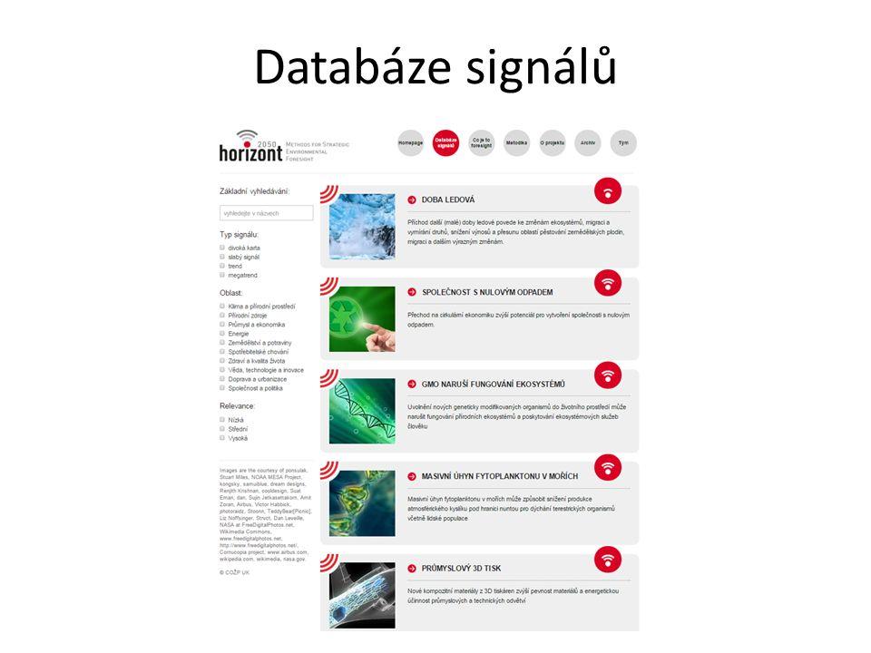 Databáze signálů