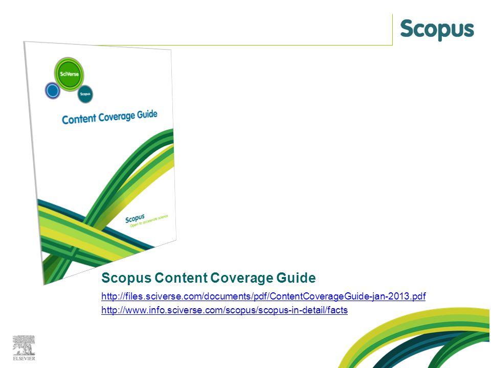 JAK DO SCOPUS? O databázi Scopus
