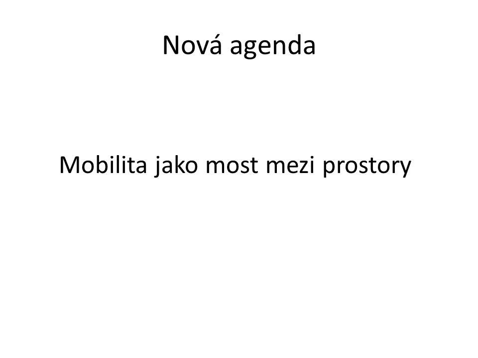 Nová agenda Mobilita jako most mezi prostory