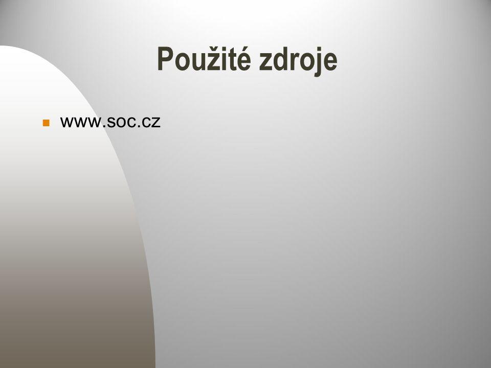 Použité zdroje www.soc.cz