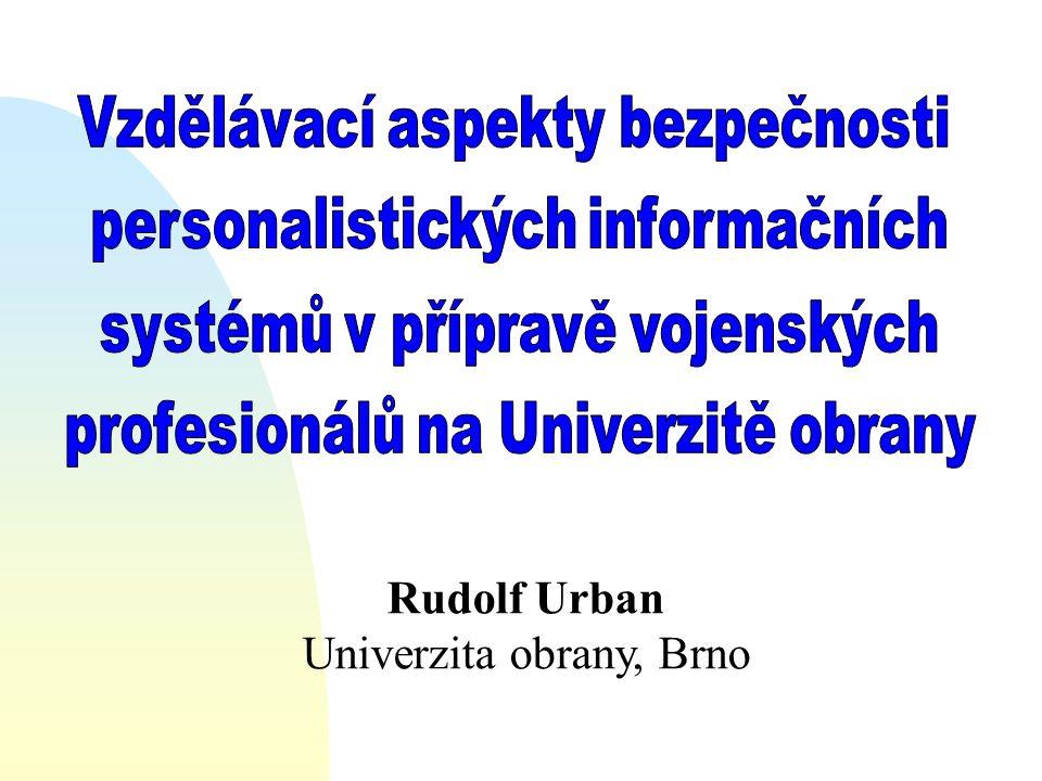 Rudolf Urban Univerzita obrany, Brno