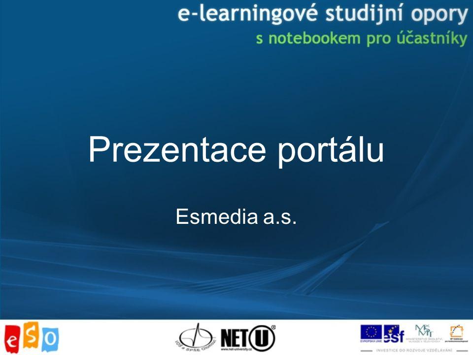Prezentace portálu Esmedia a.s.