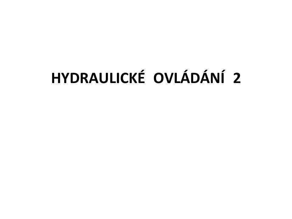 HYDRAULICKÉ OVLÁDÁNÍ 2
