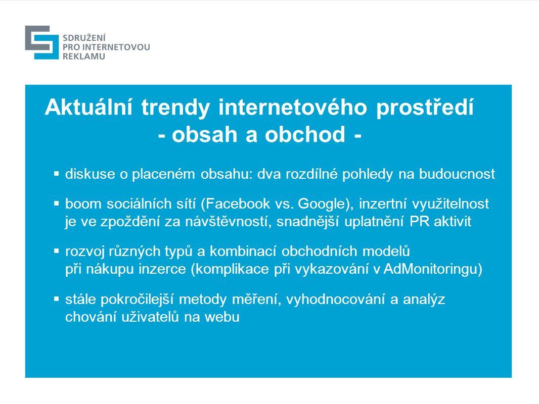 Výhled  diskuse o placeném obsahu: dva rozdílné pohledy na budoucnost  boom sociálních sítí (Facebook vs.