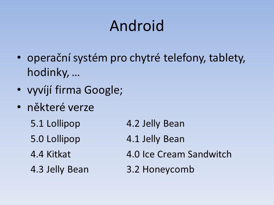 Hybridní mobilní aplikace, Cordova (1) Cordova je open source verzí PhoneGapu; zpřístupňuje pro hybridní mobilní aplikaci některé funkce telefonu (tabletu), např.: – orientace zařízení – souborový systém – gyroskop – GPS – fotoaparát