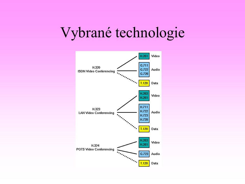 Vybrané technologie