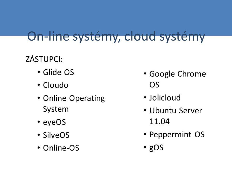Vyberte si některý z on-line operačních systémů nabízených zdarma a vyzkoušejte, jak se v tomto prostředí pracuje.
