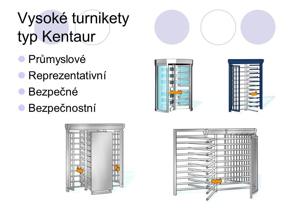 Vysoké turnikety typ Kentaur Průmyslové Reprezentativní Bezpečné Bezpečnostní