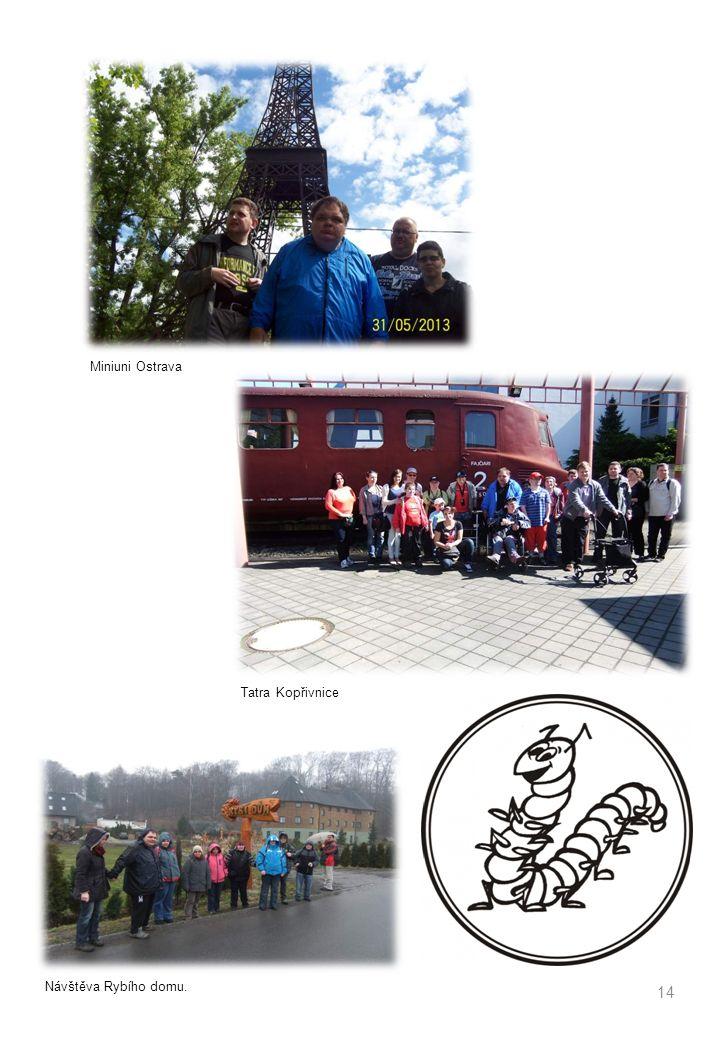 14 Miniuni Ostrava Tatra Kopřivnice Návštěva Rybího domu.