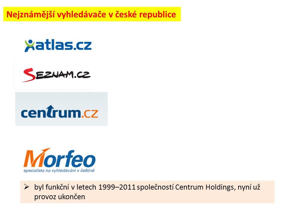  v současné době ho provozuje společnost Centrum Holdings s.