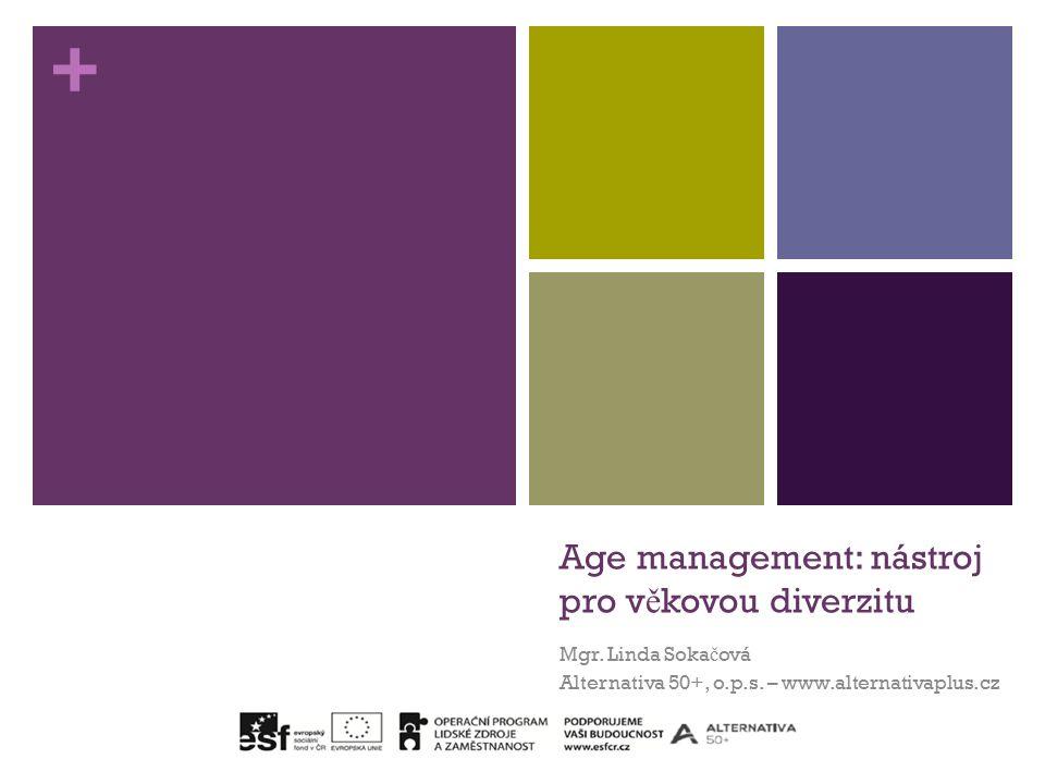 + Age management: nástroj pro v ě kovou diverzitu Mgr.