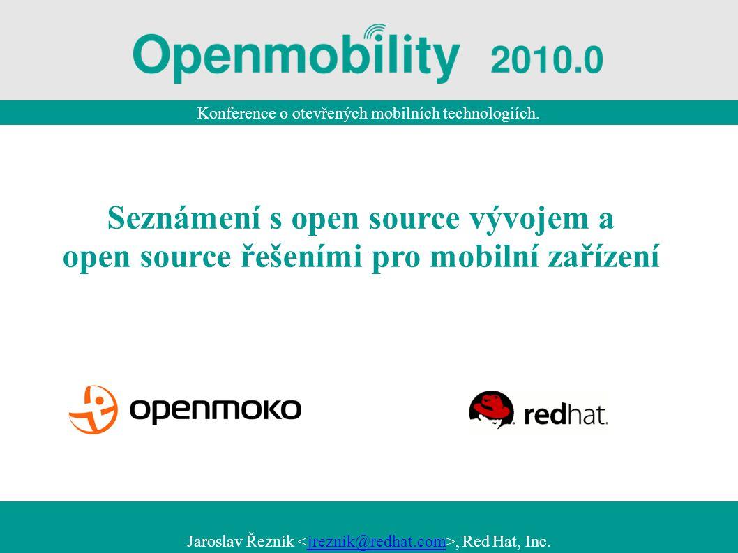 Konference o otevřených mobilních technologiích.