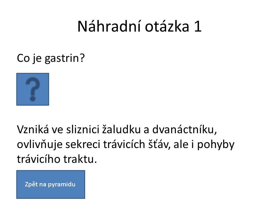 Otázka 17 Jmenujte alespoň čtyři části neuronu.