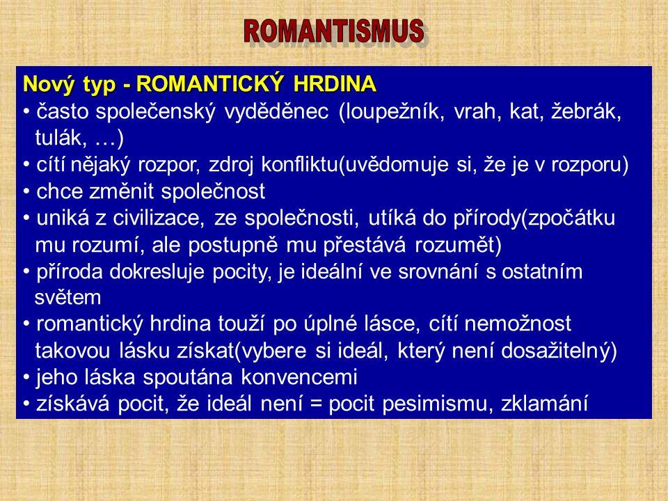 ROMANTISMUS považován za předposlední velký evropský umělecký styl prosadil se ve všech oblastech uměleckého života Josef Mánes Venkovský kostelík Josefína