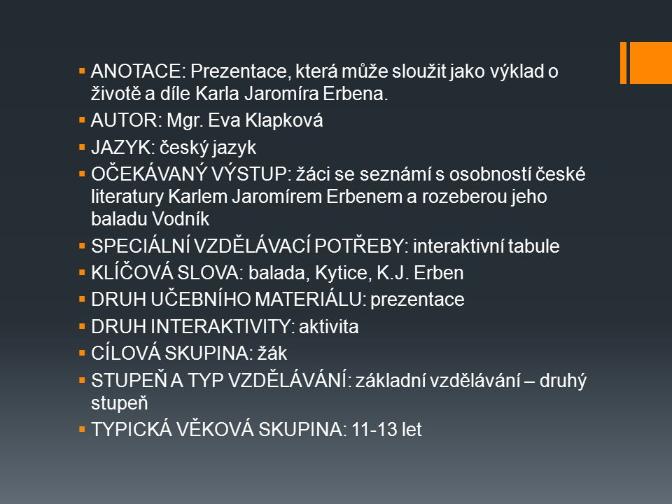 SOUKAL, J.SPN. Metodická příručka k čítankám: pro 6.